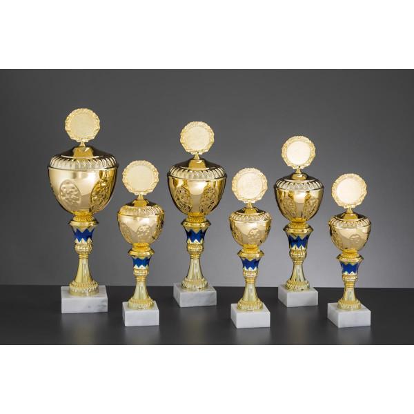 Pokal Gold-Blau Velia