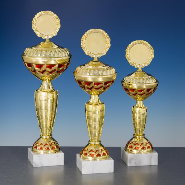 Pokal Gold-rot Marie