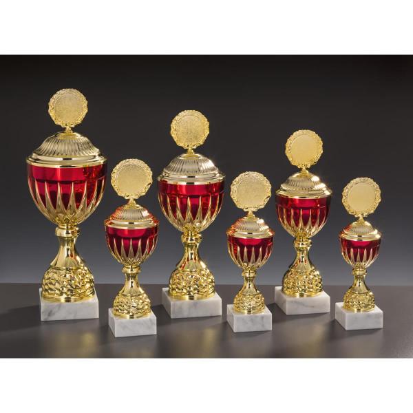 Pokal Gold-rot Erika