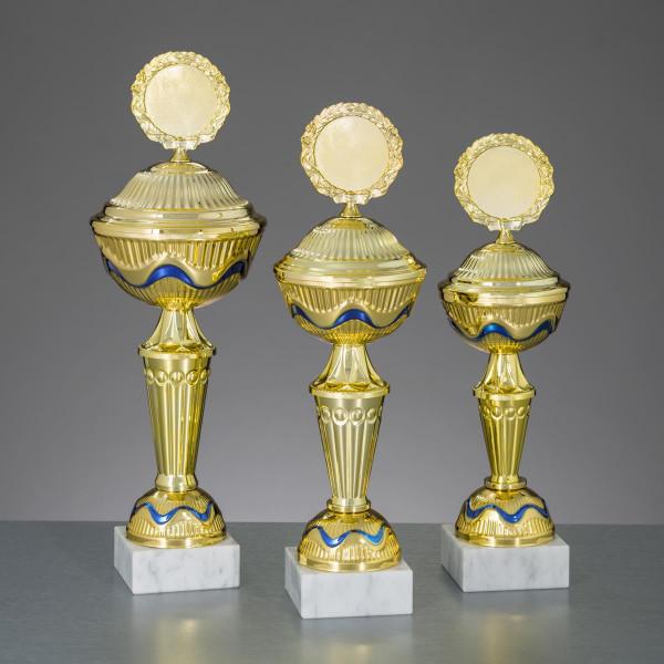 Pokal Gold-Blau Marina