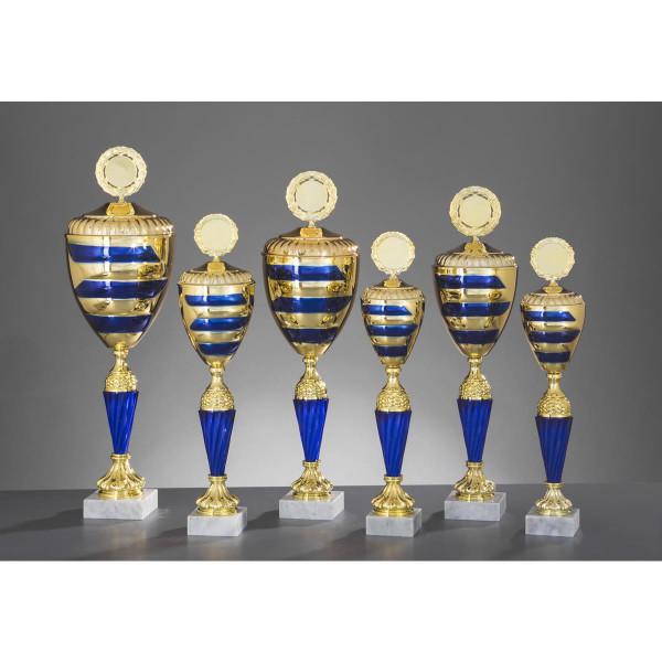 Pokal Gold-Blau Flavia