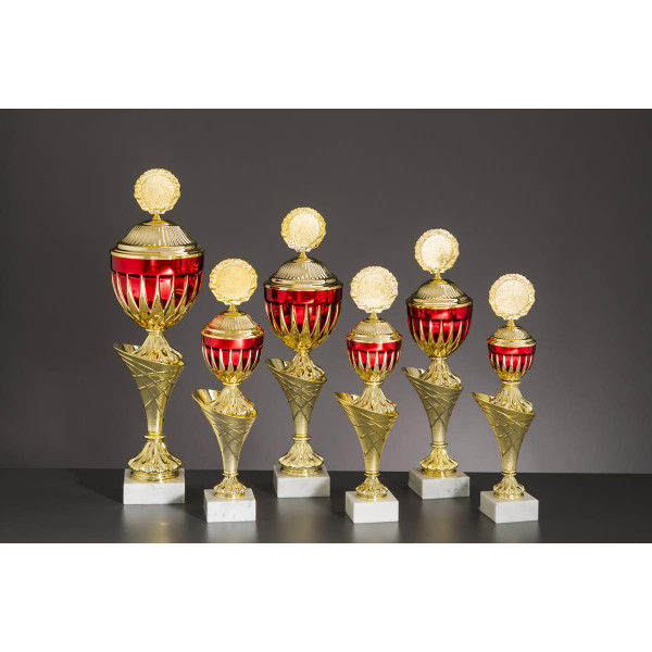 Pokal Gold-rot Salomé