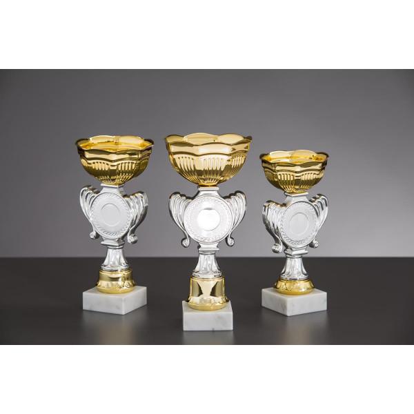 Pokal Gold-Silber Clea