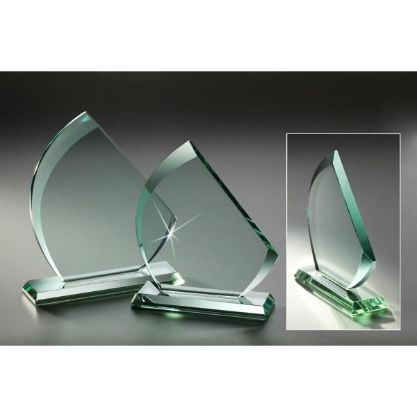 Stärke 10mmJADE-Glas Höhe 215 mm