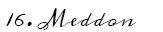 16-Meddon
